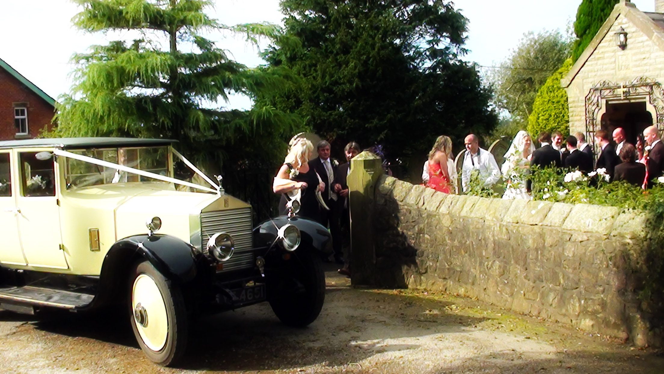 a. Rolls Royce 20 at Church of St